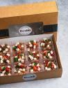 Box de 12 unidades de ensalada de remolacha, quinoa roja, lentejas y queso feta