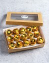 Box de 15 unidades de mini quiche de espinacas, cream chesse y crema