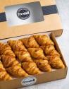 Box de 15 unidades de mini croissants de mantequilla